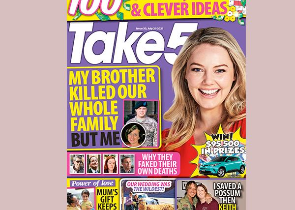 Take 5 Issue 30 Online Entry Coupon
