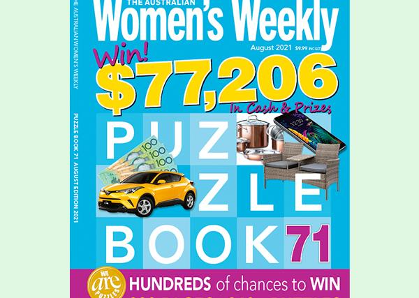 The Australian Women's Weekly Puzzle Book Issue 71