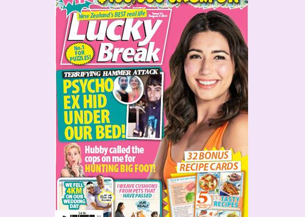 Lucky Break Issue 31 Entry Coupon