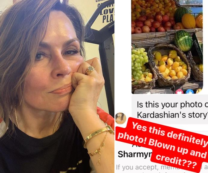 Did Lisa Wilkinson just accuse an A-list celebrity of stealing her Instagram photo? Well, kind of