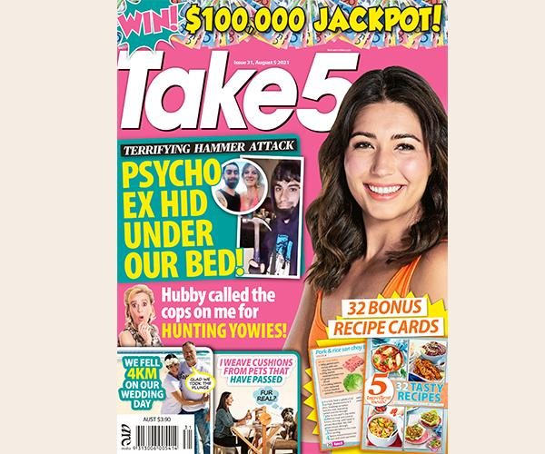 Take 5 Issue 31 Online Entry Coupon