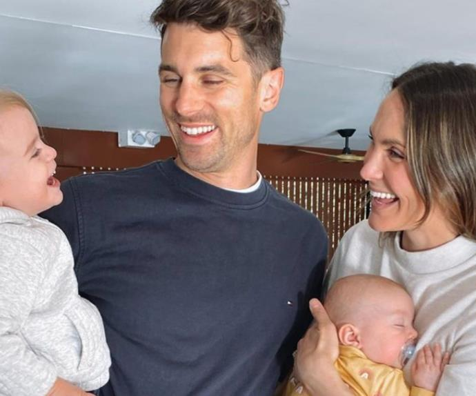 Laura Byrne reveals how she juggles two kids and two businesses with her fiancé Matty Johnson