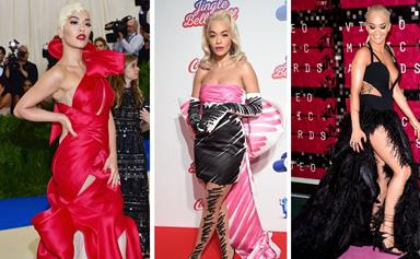 Rita Ora's daring and eccentric fashion looks will leave you in awe of the British pop star