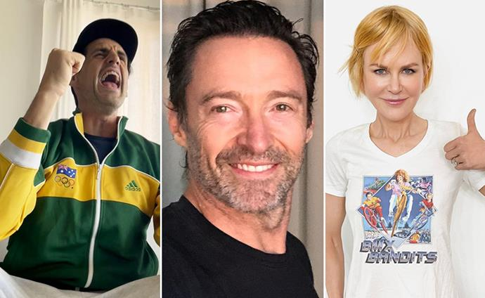 Green and gold pride! All the celebs cheering for Australia's athletes at the Tokyo Olympics