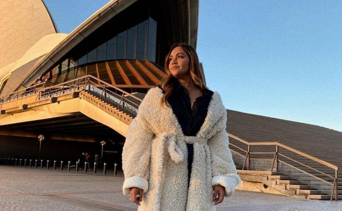 In Olympic spirit, Jessica Mauboy shares an incredible throwback from the 2014 Commonwealth Games