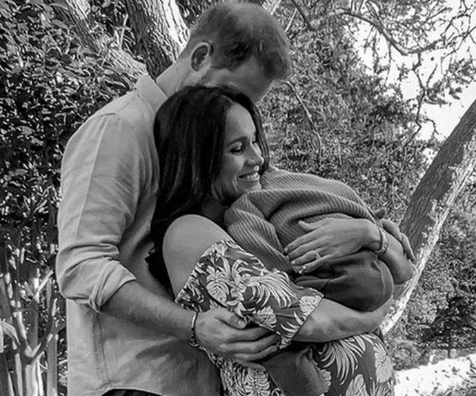 Did Meghan Markle just accidentally share the first glimpse of baby daughter Lilibet? Well, maybe