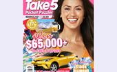Take 5 Pocket Puzzler Issue 204 Online Entry Coupon