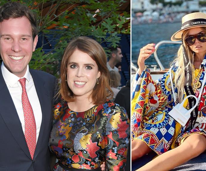 One of the models photographed topless with Princess Eugenie's husband Jack Brooksbank breaks her silence