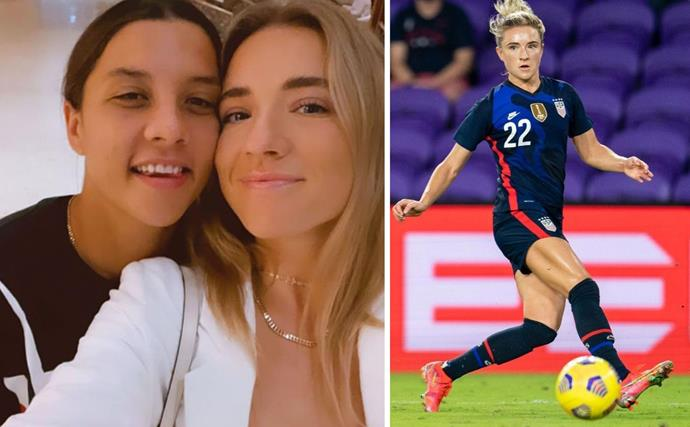 Everything you need to know about Kristie Mewis, the American soccer player who stole Matildas star Sam Kerr's heart