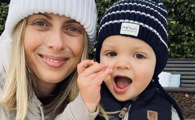 Sylvia Jeffreys causes a frenzy among her famous friends after sharing a picture of baby Henry, and he's Peter Stefanovic's mini me
