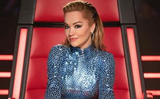 Dazzle rooms with the same ferocity as Rita Ora in this divine sequin dress on The Voice by recreating her look