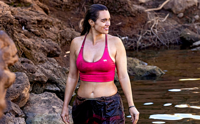 """Australian Survivor star Laura Wells on her career as a model: """"I've been told to lose weight"""""""