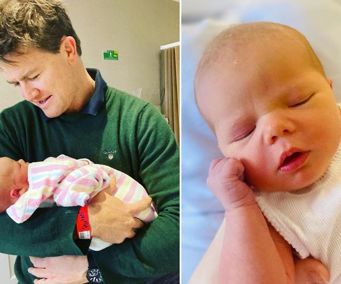 What a name! Alex Cullen reveals what he and wife Bonnie have named their third child, a sweet baby boy