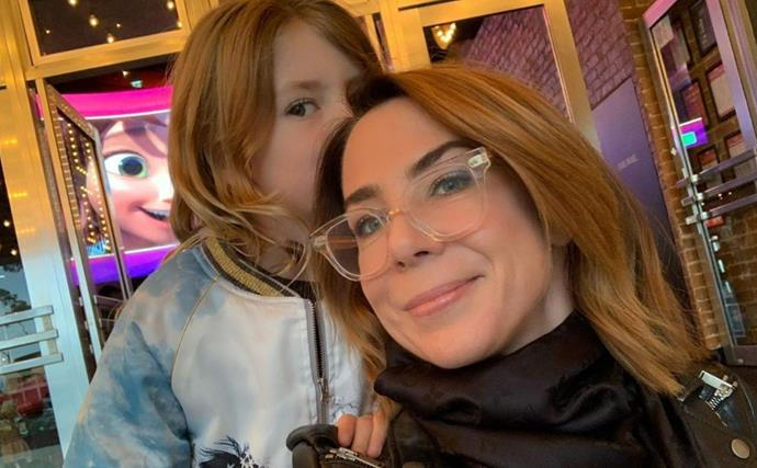 Kate Ritchie rings in her daughter's big milestone in lockdown with their mutual love of baked goodies - plus one very sweet request