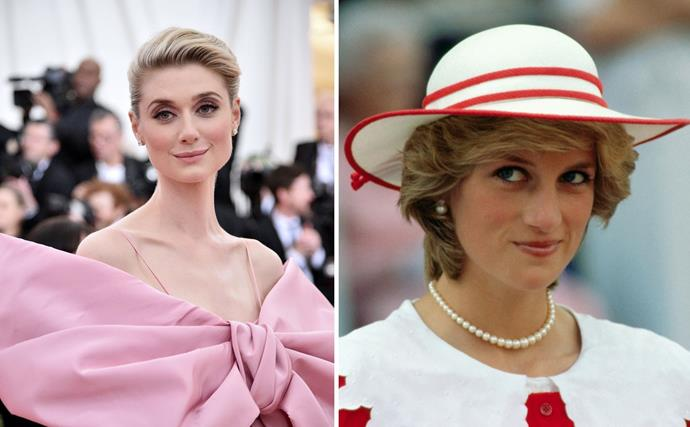 The Crown has released our first look at the divine Elizabeth Debicki as Princess Diana, and their similarities are striking