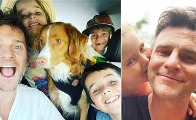 All the heartwarming moments, dedicated dad David Campbell has shared with his three children