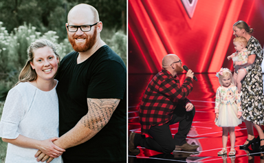 EXCLUSIVE: The Voice's Mick Harrington says he won't sing at his wedding after his on-stage proposal stole the show