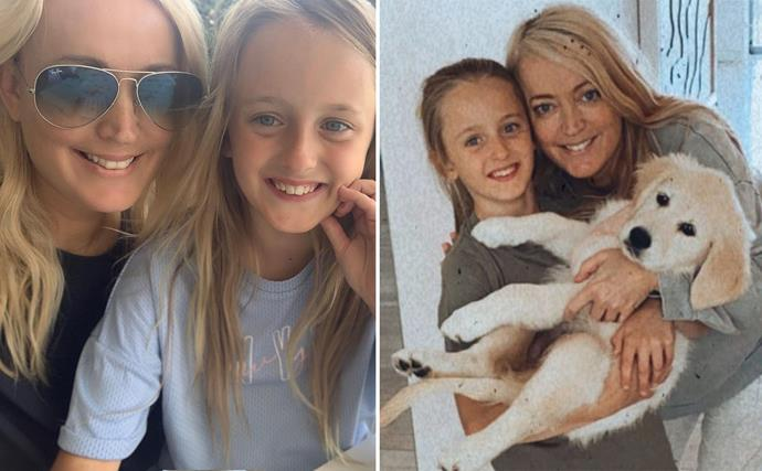 Blonde beauties: Jackie O's daughter Kitty is her ultimate mini-me in these sweet snaps