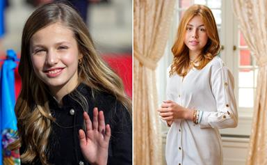 Two influential European princesses are about to cross paths at their exclusive new UK boarding school