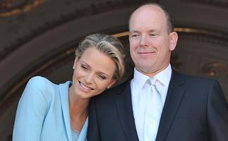 Princess Charlene's joy as she reunites with her husband and children after painful illness separated them for months
