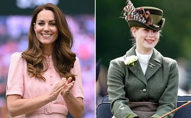 """EXCLUSIVE: How Catherine, Duchess of Cambridge has found a new royal """"ally"""" in 17-year-old Lady Louise Windsor"""