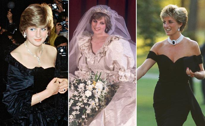 Remembering Princess Diana's most iconic fashion moments: from the wedding gown that stopped the world to THAT revenge dress