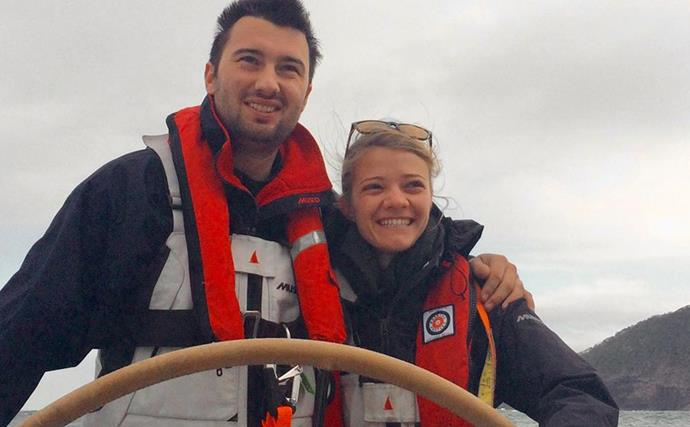 """Aussie sailor Jessica Watson's """"indescribable grief"""" after death of partner of 10 years"""