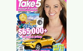 Take 5 Pocket Puzzler Issue 205 Online Entry Coupon