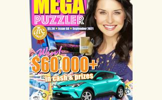 Take 5 Mega Puzzler Issue 68 Online Entry Coupon