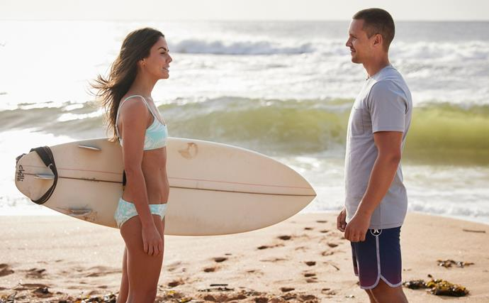 Summer Bay is heating up as Mackenzie and Logan take their flirting to the next level on Home and Away