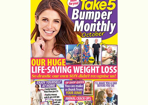 Take 5 Bumper Monthly October Issue Online Entry