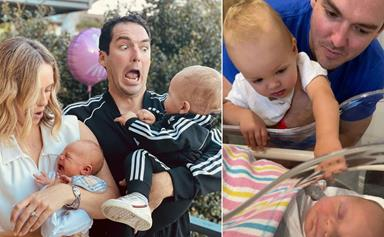 The lucky four! Sylvia Jeffreys and Peter Stefanovic's cutest family photos with their adorable sons Henry and Oscar