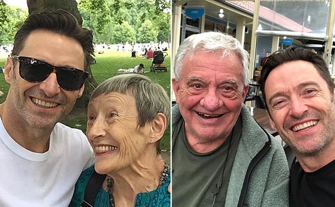 Hugh Jackman parents