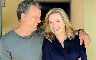 """EXCLUSIVE: Rebecca Gibney and Erik Thomson open up about becoming """"mum and dad"""" again in Back To The Rafters"""