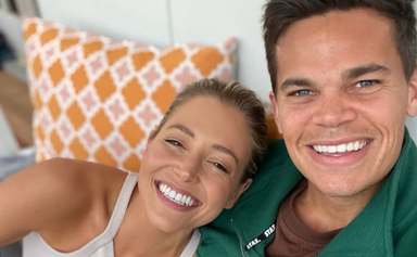 Love in lockdown! The Bachelor's Jimmy Nicholson and Holly Kingston take their romance public