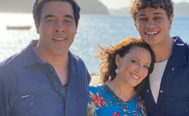 ''Welcome to the funhouse!'' The cast of Home and Away welcome Matt Evans to Summer Bay