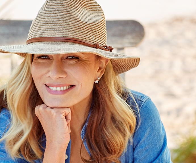EXCLUSIVE: Deborah Hutton shares her biggest sun safety regret one year after viral skin cancer photo