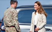 Kate Middleton puts pregnancy rumours to bed with first royal outing in over nine weeks