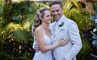 Home and Away wedding bells! Tori and Christian finally tie the knot