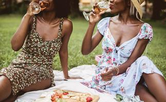 Everything you need for the ultimate lockdown picnic: From snacks and summery cocktails, to a chic face mask