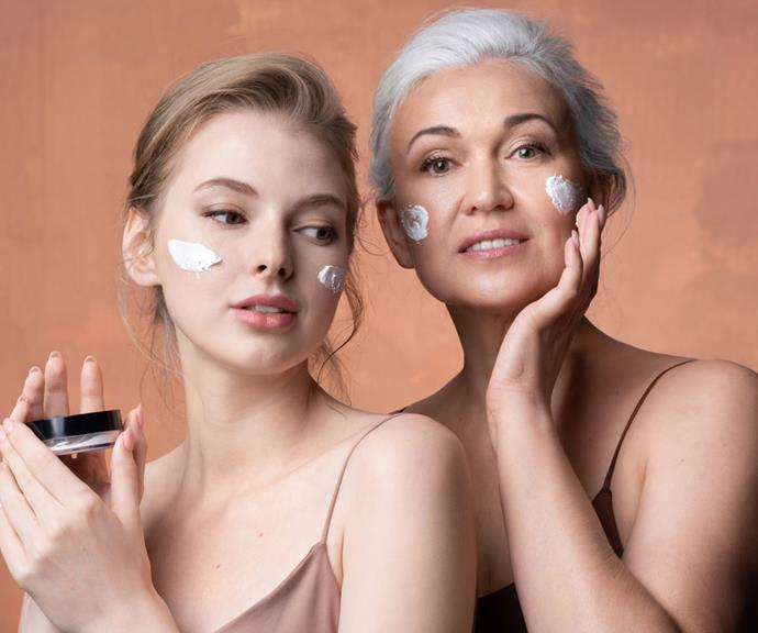 Declining estrogen during perimenopause and menopause can impact collagen levels. This can result in dry, itchy skin and require changes to your normal skincare routine