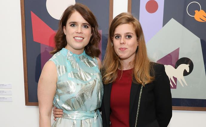 She's besotted! Princess Eugenie shares a heartfelt message dedicated to her sister Princess Beatrice and new niece