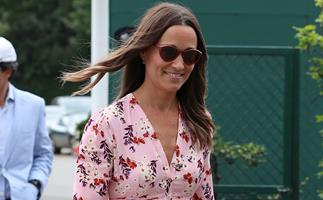 Pretty in pink! Pippa Middleton wore the most perfect dress for her brother James' French wedding