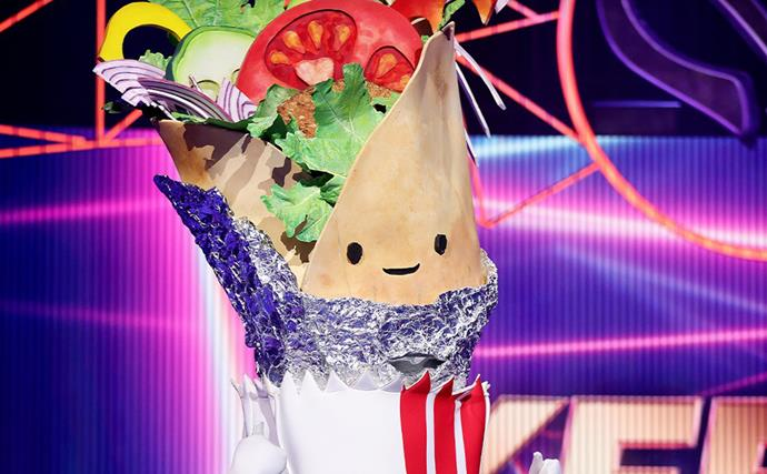 Who is Kebab on The Masked Singer Australia? The answer might be a little 'saucy'