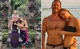 The side of Koby Abberton SAS Australia viewers don't see: How the Bra Boy and his model fiancée make their Bali romance work