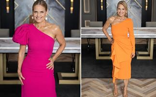 Bold colours and one-shouldered statement pieces: Interior design queen Shaynna Blaze is the underrated queen of TV fashion
