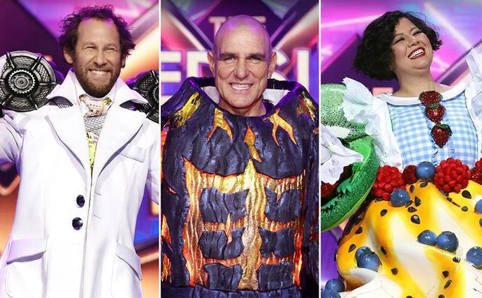 The Masked Singer Australia celebrities revealed 2021