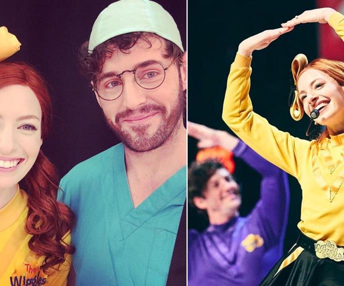 Purple Wiggle Lachy Gillespie shares a sweet tribute dedicated to his former wife and co-star Yellow Wiggle Emma Watkins