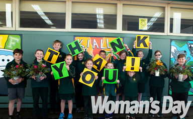 Time To Say Thank You: How one country school kept their community smiling during lockdown