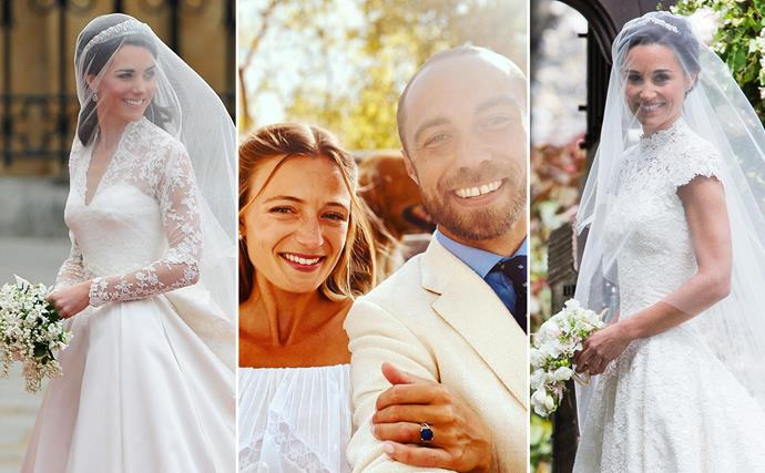 Inside the Middleton weddings: From Catherine's royal marriage, to Pippa's countryside nuptials and James' French affair